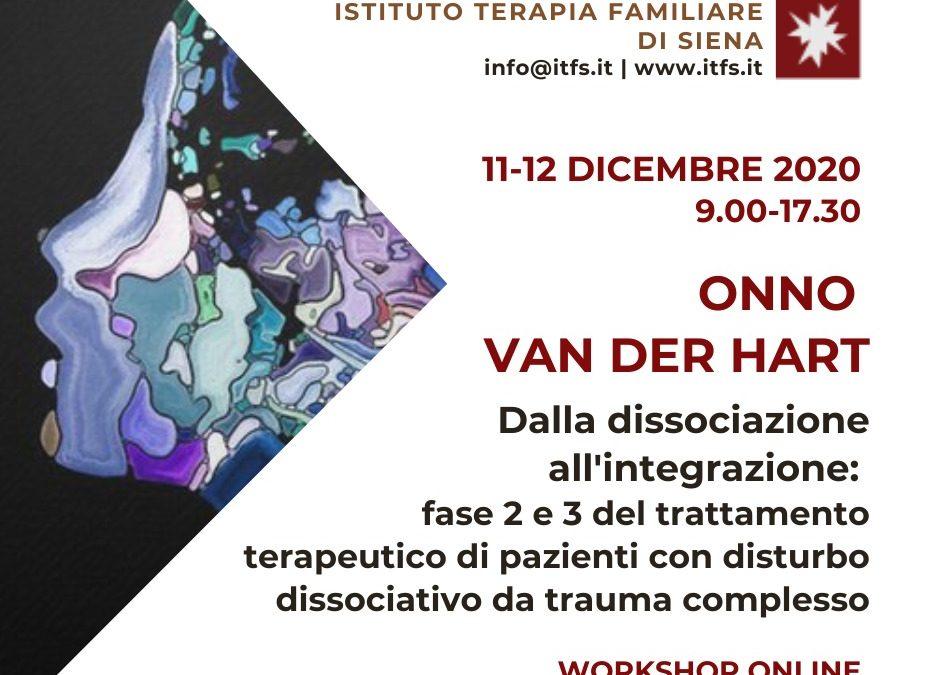 WORKSHOP ONLINE 11 e 12 Dicembre con Onno van Der Hart