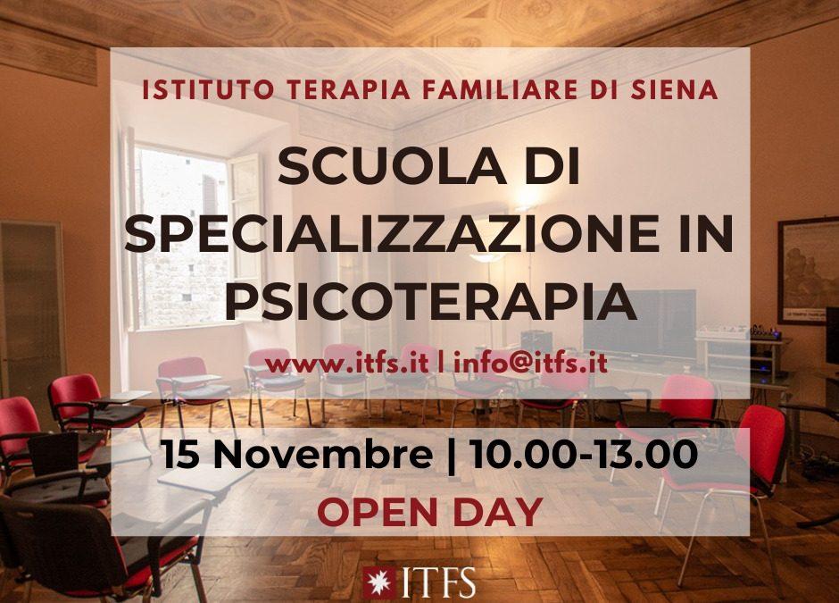 Open Day – ITFS – 15 Novembre 2021